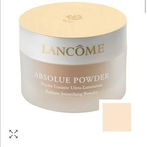 Lancôme absolute powder radiant smoothing
